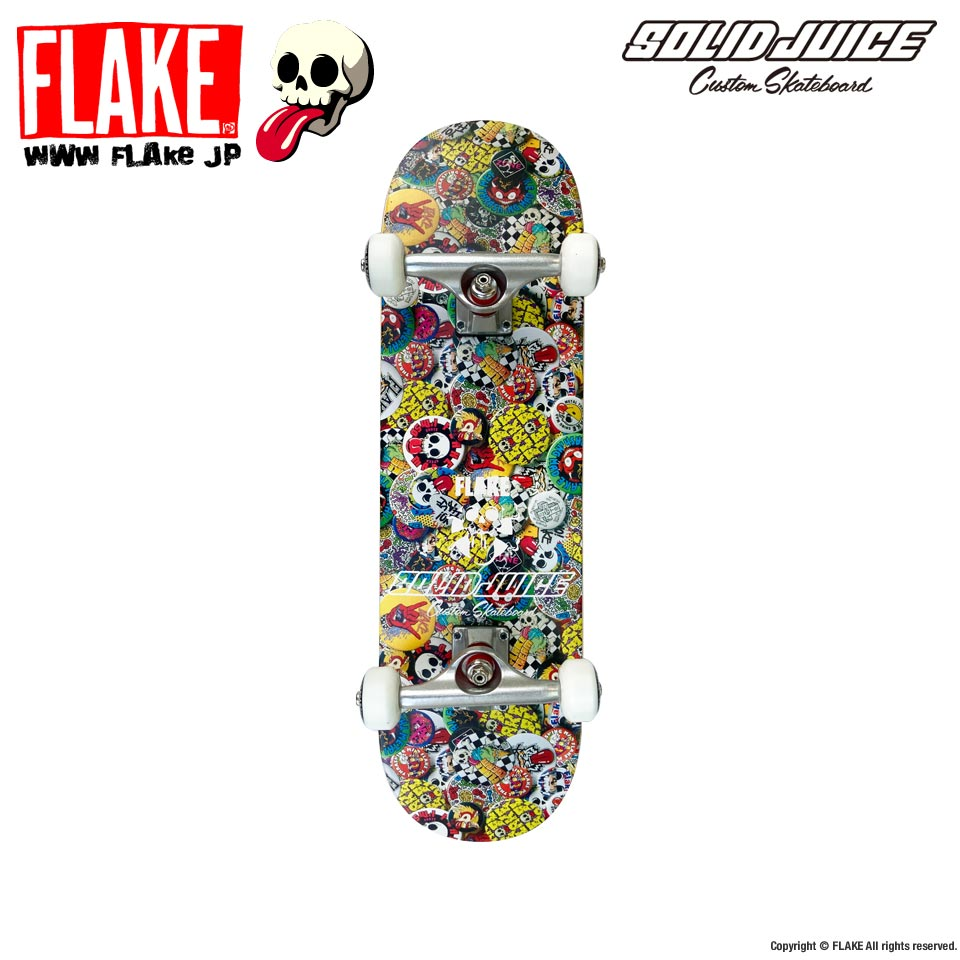 [First Skateboarding] FLAKE x SOLIDJUICE コンプリートデッキ