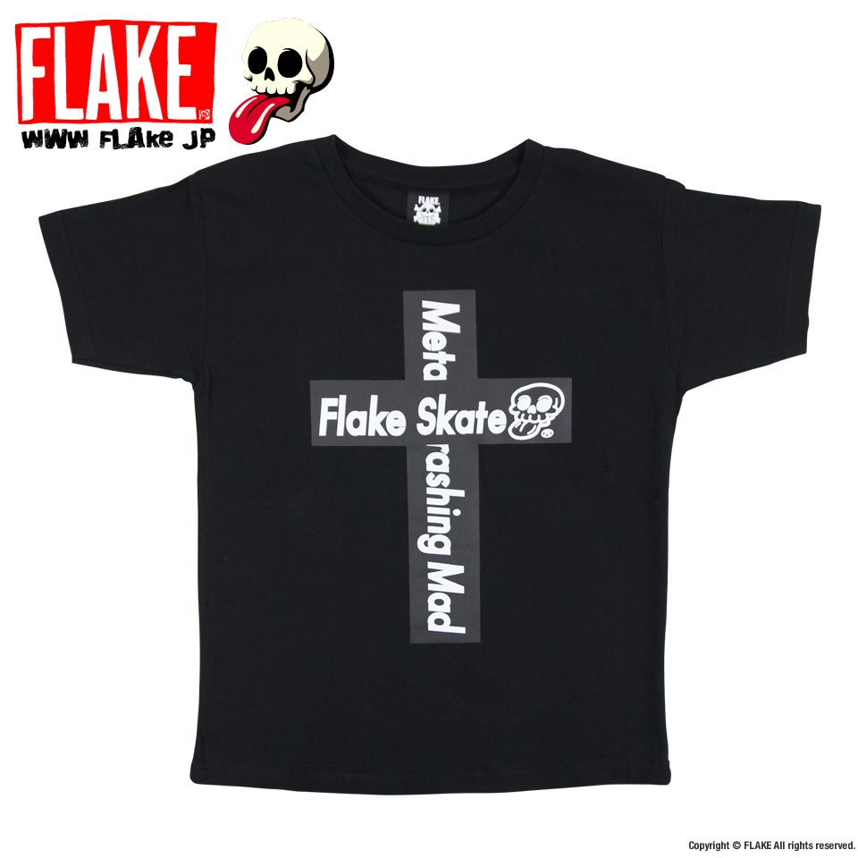 FLAKE CROSS LOGO S/S T-SHIRTS