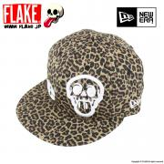 FLAKE × NEW ERA 59FIFTY Leopard Print