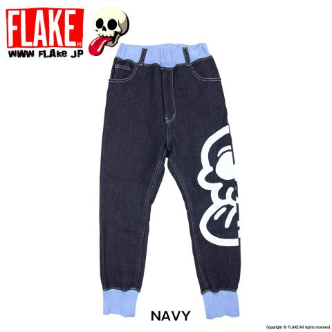 MAD SKULL TM KNIT DENIM PANTS