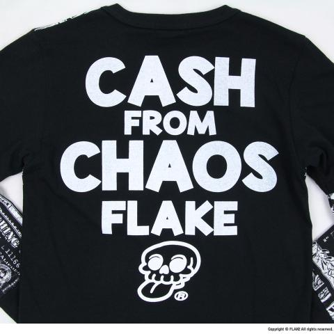 CASH FROM CHAOS LAYER TEE