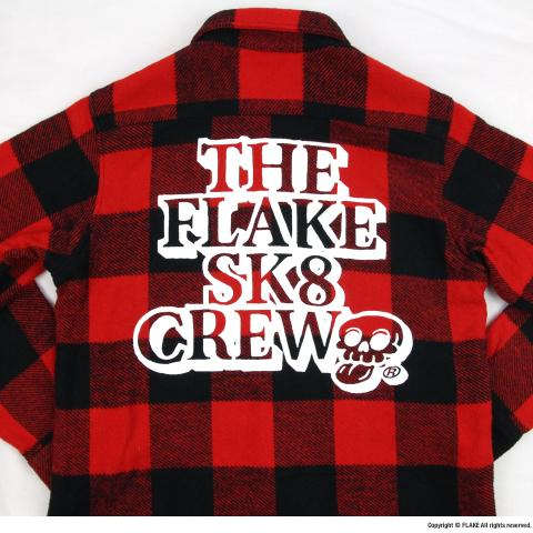 FLAKE SK8 CREW FLANNEL SHIRTS