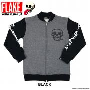 MAD SKULL SWEAT ZIP JAKET