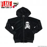MAD SKULL CROSS VELOUR PARKA