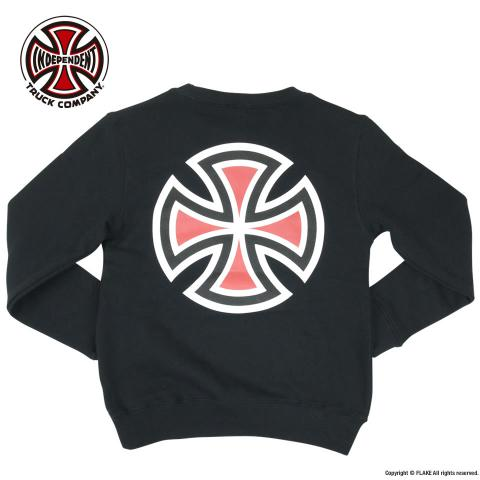 INDEPENDENT bar cross logo SWEAT SHIRTS