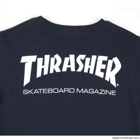 THRASHER FLAME SK8 GOATⅡ SWEAT SHIRTS