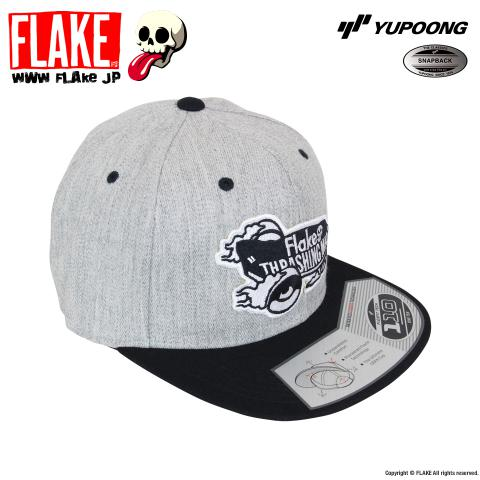 YUPOONG 110 Fitted FLAKE THRASHING MAD