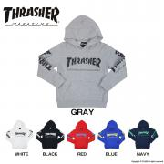 THRASHER MAG LOGO SWEAT PARKA