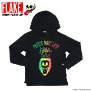 FLAKE RASTA SWEAT PARKA