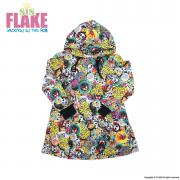 FLAKE CAN BADGE ONE PIECE PARKA