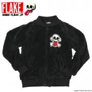 CROSS BONE FLEECE ZIP JACKET