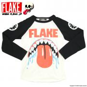 MAD SHARK RAGLAN TEE