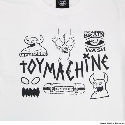 TOY MACHINE S/S TEE