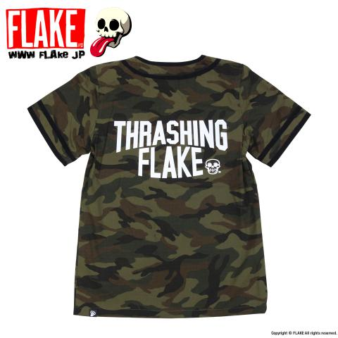 THRASHING FLAKE BASEBALL SHIRTS