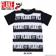 FLAKE STRIPED S/S TEE