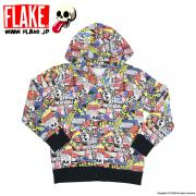 COMICS SWEAT ZIP JACKET