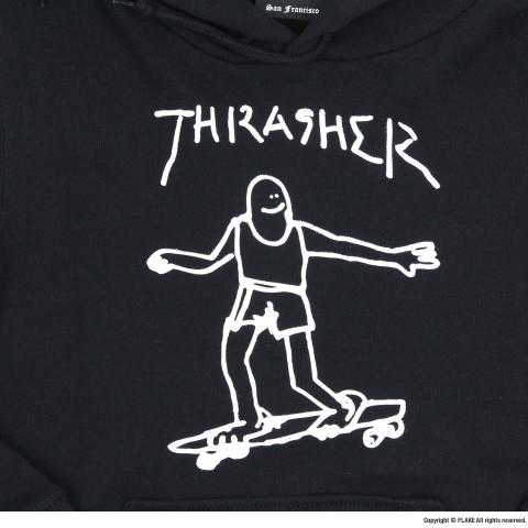 THRASHER GONZ YOUTH SWEAT PARKA
