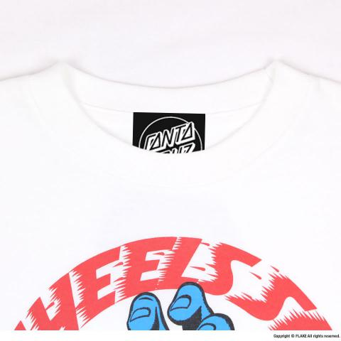 SANTA CRUZ SCREAMING HAND YOUTH S/S TEE