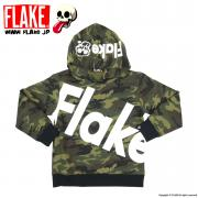 BIG LOGO CAMO SWEAT PARKA