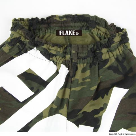 BIG LOGO CAMO HALF PANTS