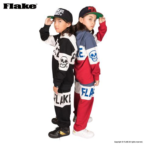 FLAKE TM SWEAT PARKA