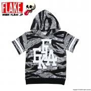 FLAKE S/S SWEAT PARKA
