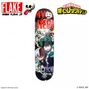 僕のヒーローアカデミア x FLAKE MY HERO SKATEBOARD DECK