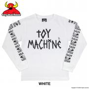TOY MACHINE logo L/S TEE