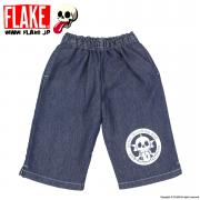 FLAKE TRASH CITY KINIT DENIM SHORTS