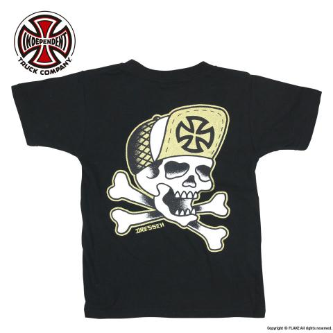 INDEPENDENT Dressen skull poster YOUTH S/S TEE