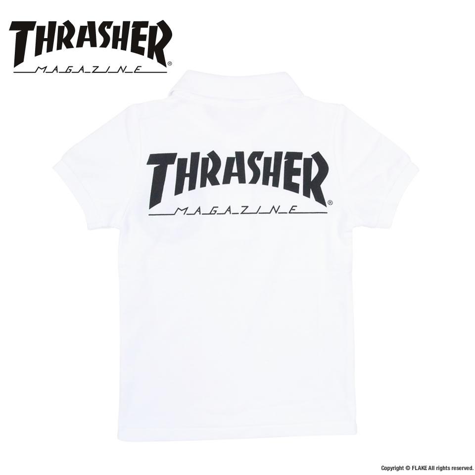 0627ba201bb6 FLAKE   THRASHER MAG YOUTH S S POLO SHIRTS