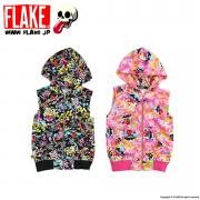 MAD GRAFFITY NOSLEEVE ZIP PARKA